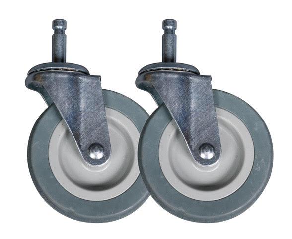 """4"""" Swivel wheels"""