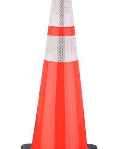 """36"""" reflective Traffic Cone"""